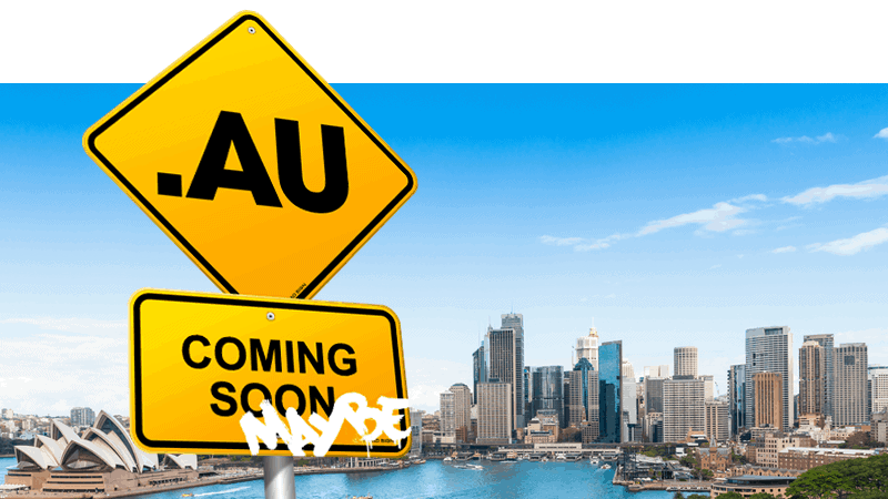 .au sign coming soon and maybe text